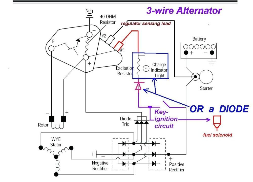 medium resolution of delco alternator wiring schematic 3 wire alternator wiring diagram 24v dc regulator seaboard marine beauteous