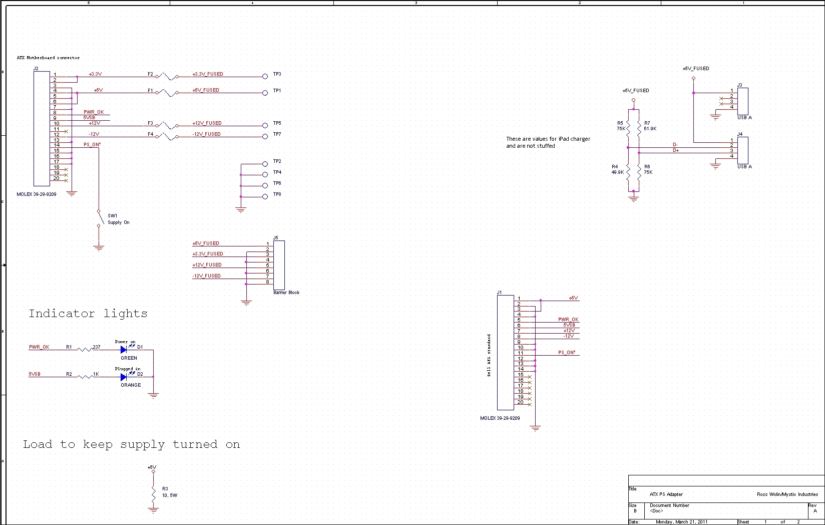 dell laptop power supply circuit diagram