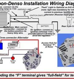 12v Hitachi Alternator Wiring Diagram - 24v alternator ... on
