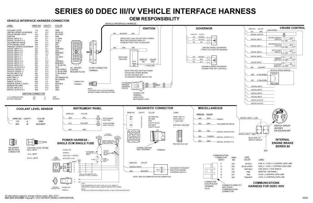 medium resolution of  detroit sel series 60 wiring diagram free wiring diagram on kenworth wiring diagram