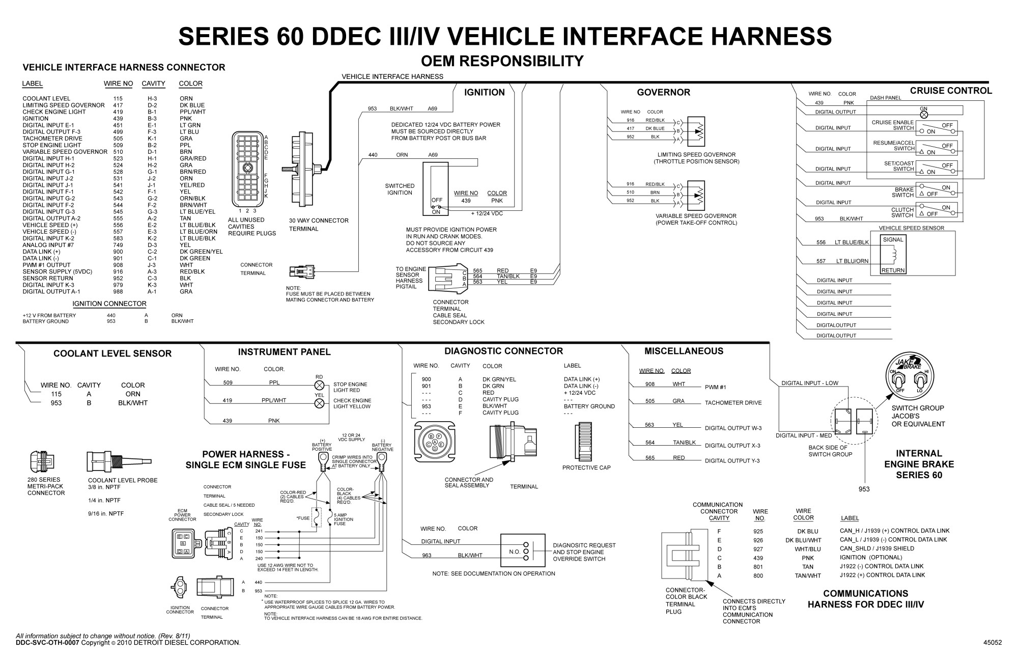 hight resolution of  detroit sel series 60 wiring diagram free wiring diagram on kenworth wiring diagram