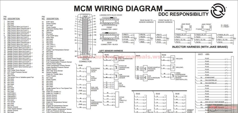 medium resolution of detroit diesel series 60 wiring diagram detroit sel ddec vi series 60 mcm egr engine