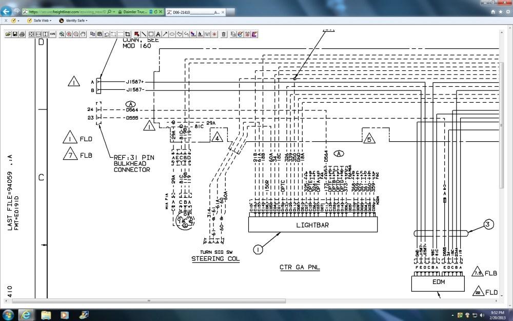 medium resolution of fld wiring diagram wiring diagram centre freightliner fld 120