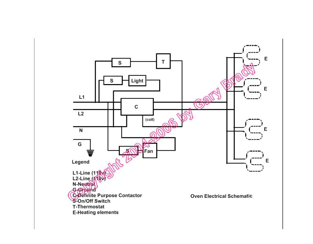 [DIAGRAM in Pictures Database] Convection Oven Wiring