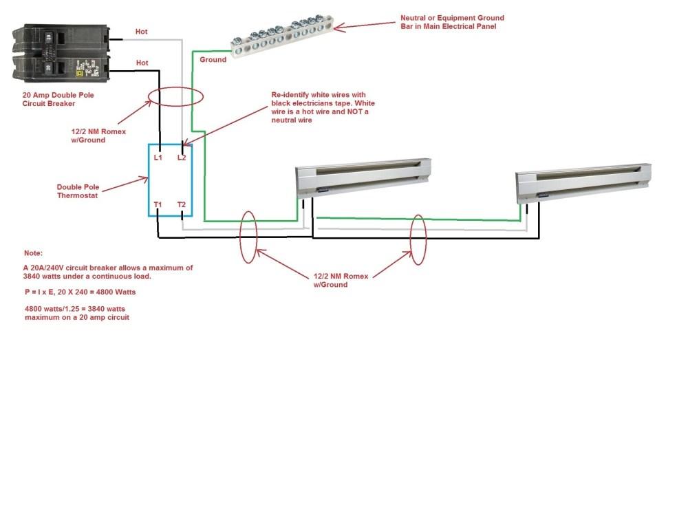 medium resolution of double pole circuit breaker wiring diagram