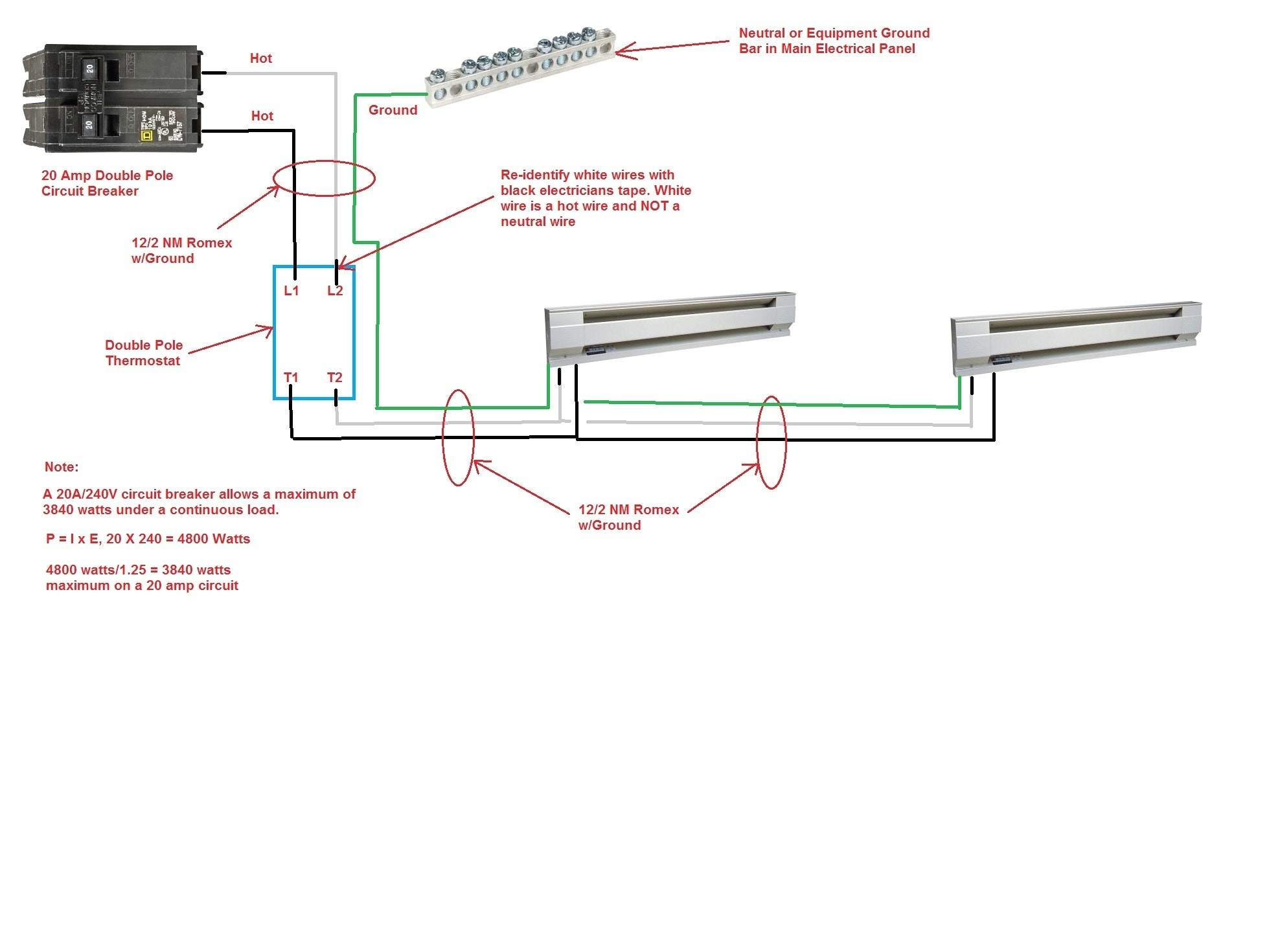 hight resolution of double pole circuit breaker wiring diagram