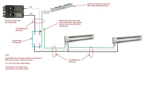 small resolution of double pole circuit breaker wiring diagram