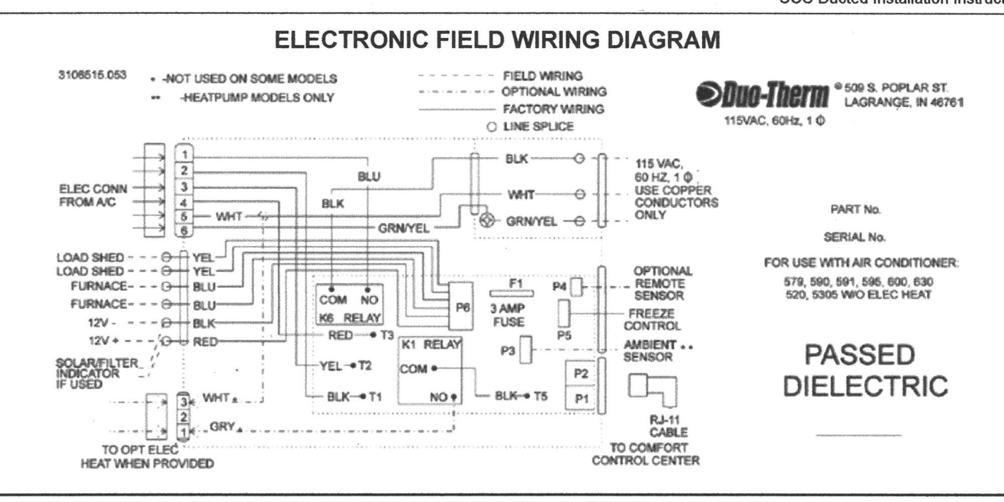 hight resolution of duo therm air conditioner wiring diagram