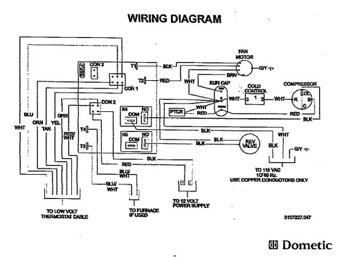 small resolution of duo therm rv air conditioner wiring diagram