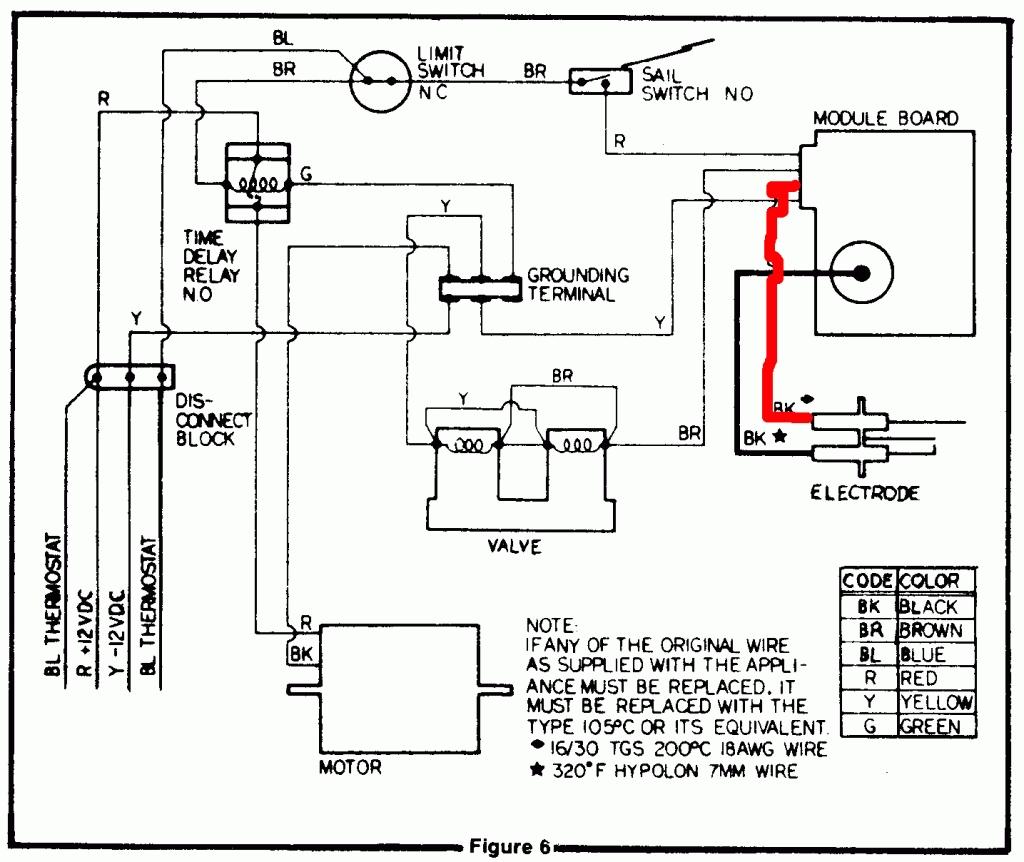 dometic rv furnace wiring diagram