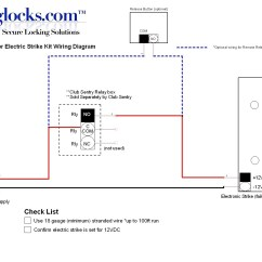 Electric Strike Wiring Diagram Color Coded Trailer Door Free