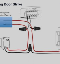 electric door strike wiring diagram electric strike door lock wiring diagram on garage door wire [ 1707 x 960 Pixel ]