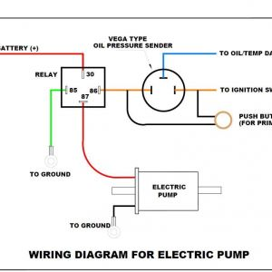 Fuel Pump Wiring Diagram Oil Pressure