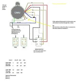 Electric Motor Wiring Diagram 110 to 220 | Free Wiring Diagram