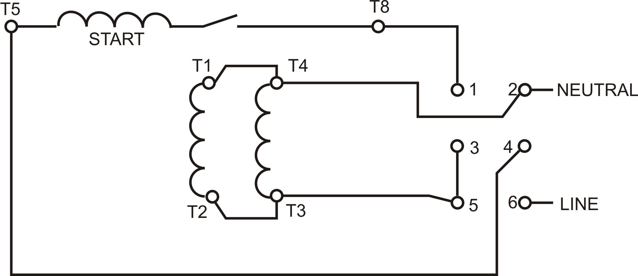 Marathon Motor Wiring Diagram For 120 Volt