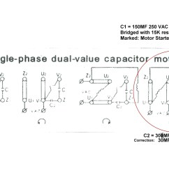 electric motor wiring diagram 110 to 220 wiring diagram for electric motor with capacitor best [ 3229 x 2480 Pixel ]