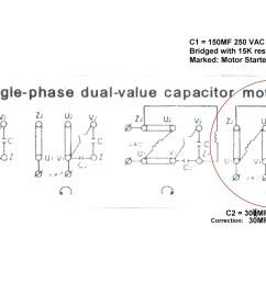 electric motor wiring diagram 110 to 220 free wiring diagram rh ricardolevinsmorales com single phase transformer wiring diagram single phase capacitor  [ 3229 x 2480 Pixel ]