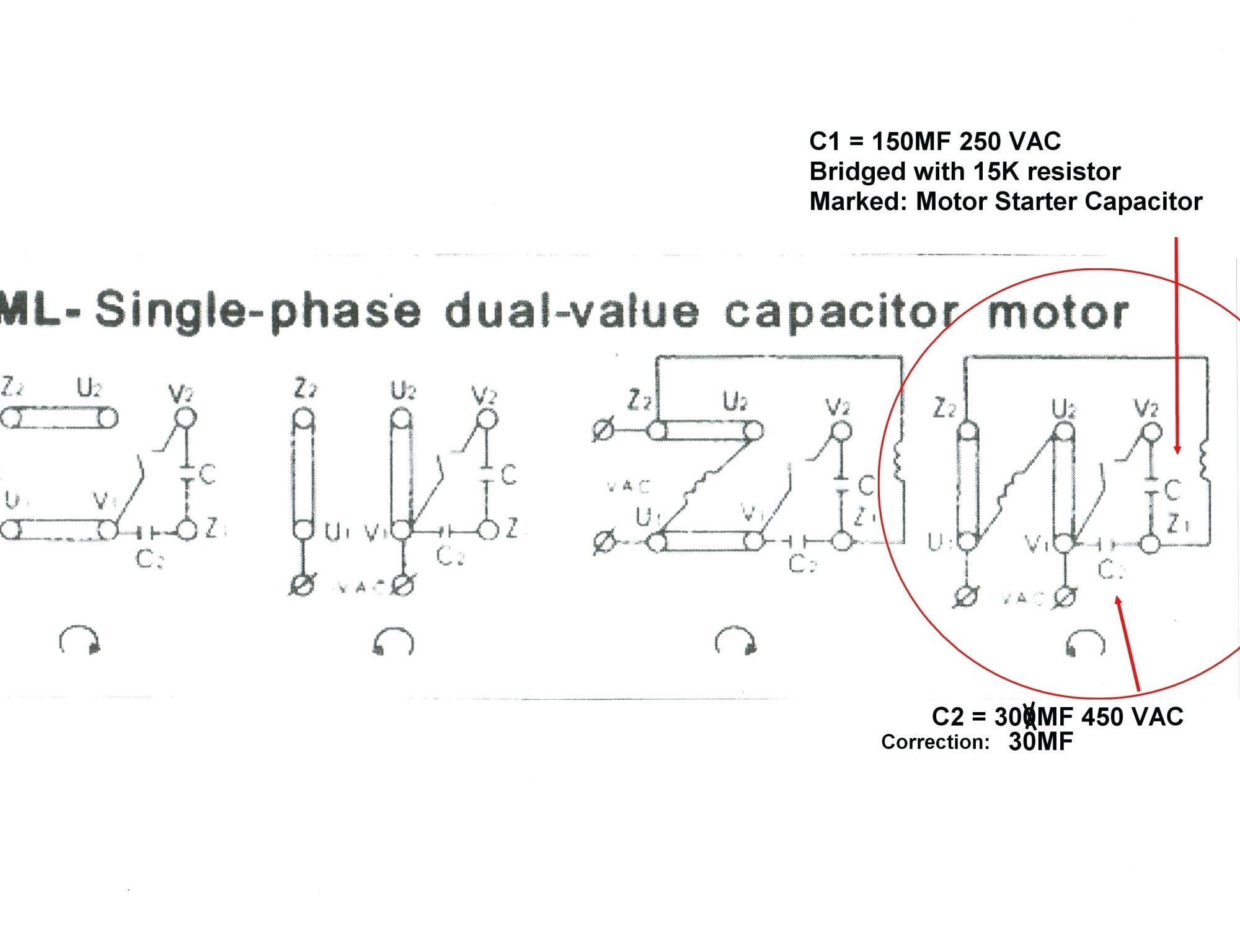 hight resolution of electric motor wiring diagram 110 to 220 wiring diagram for electric motor with capacitor best
