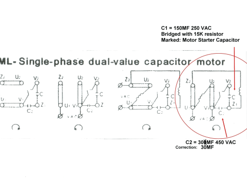 small resolution of electric motor wiring diagram 110 to 220 wiring diagram for electric motor with capacitor best