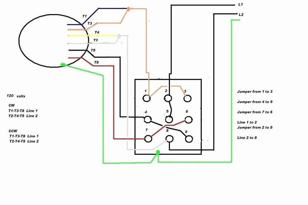 medium resolution of electric motor wiring diagram 110 to 220