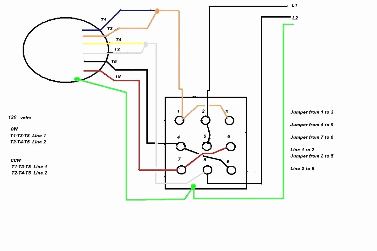 hight resolution of electric motor wiring diagram 110 to 220