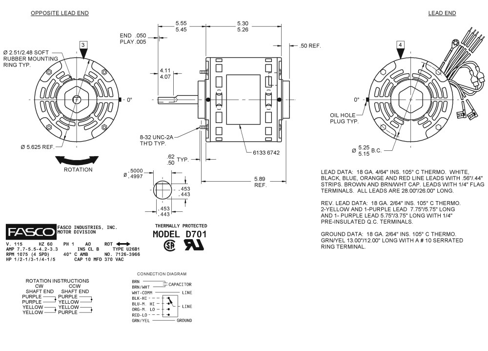 medium resolution of emerson electric motors wiring diagram