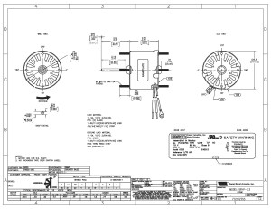Emerson Motor Wiring Diagram | Free Wiring Diagram