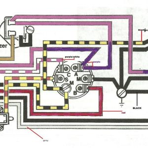 Evinrude Ignition Switch Wiring Diagram | Free Wiring Diagram
