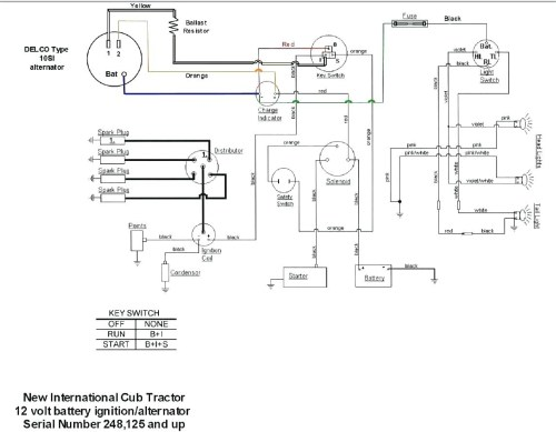 small resolution of farmall 400 12 volt wiring diagram