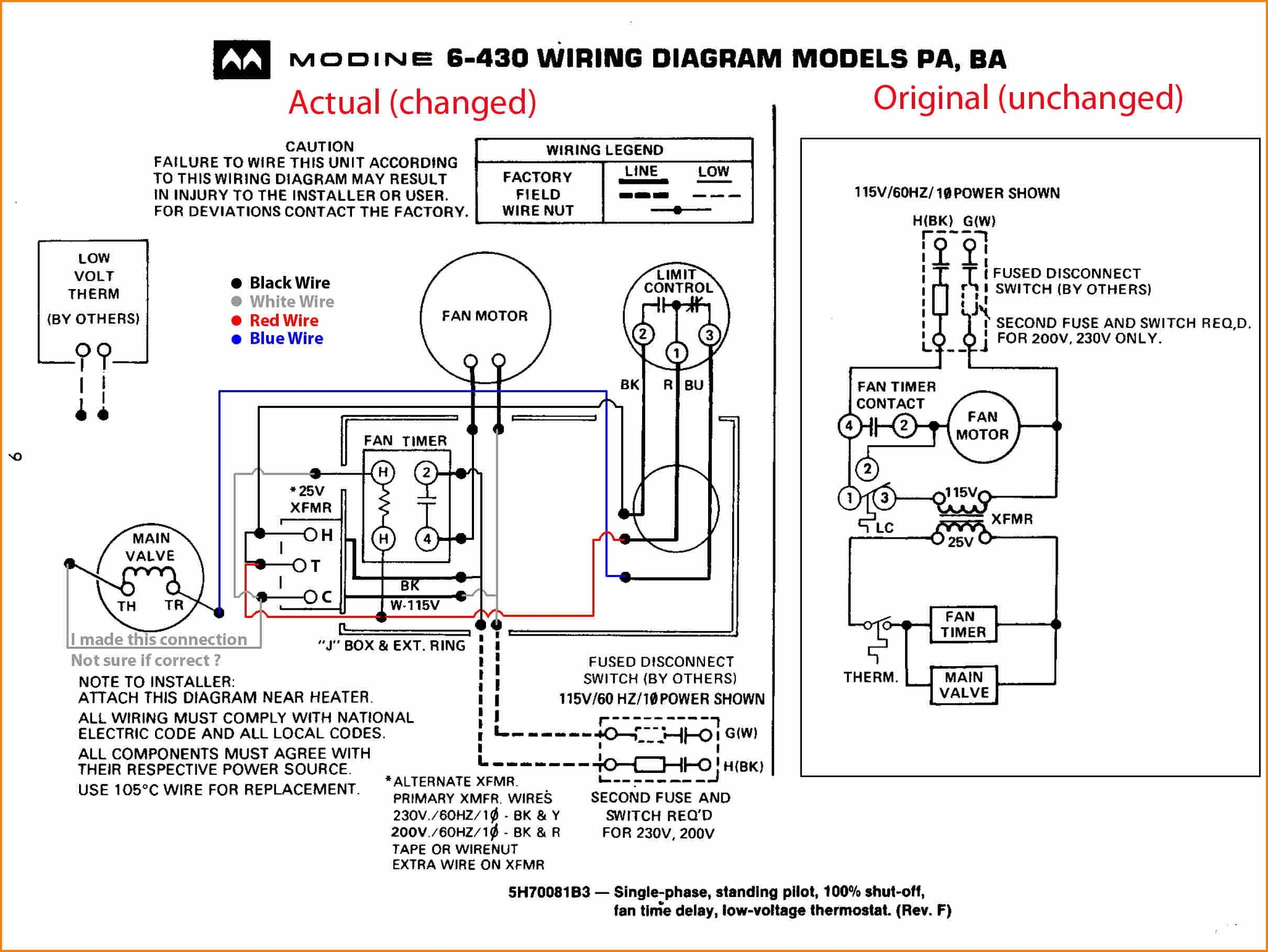 furnace motor schematic