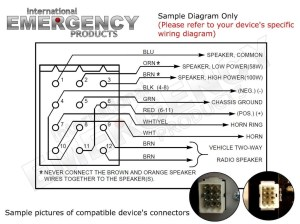 Federal Signal Legend Lightbar Wiring Diagram | Free Wiring Diagram