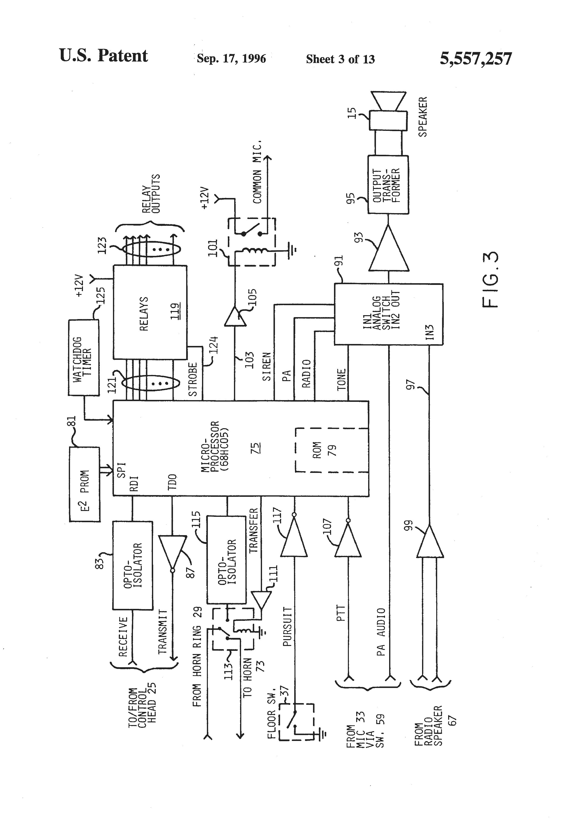 Federal Signal Pa300 Wiring Diagram