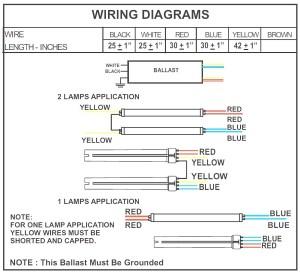 Fluorescent Ballast Wiring Diagram | Free Wiring Diagram
