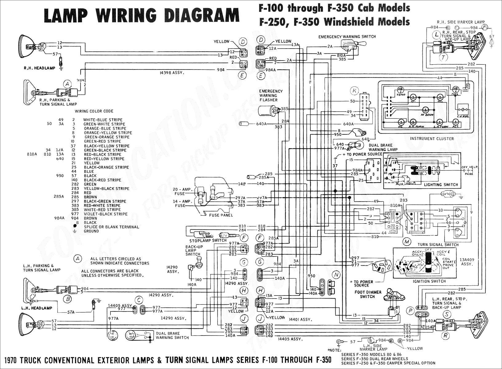 2006 ford f350 electrical diagram