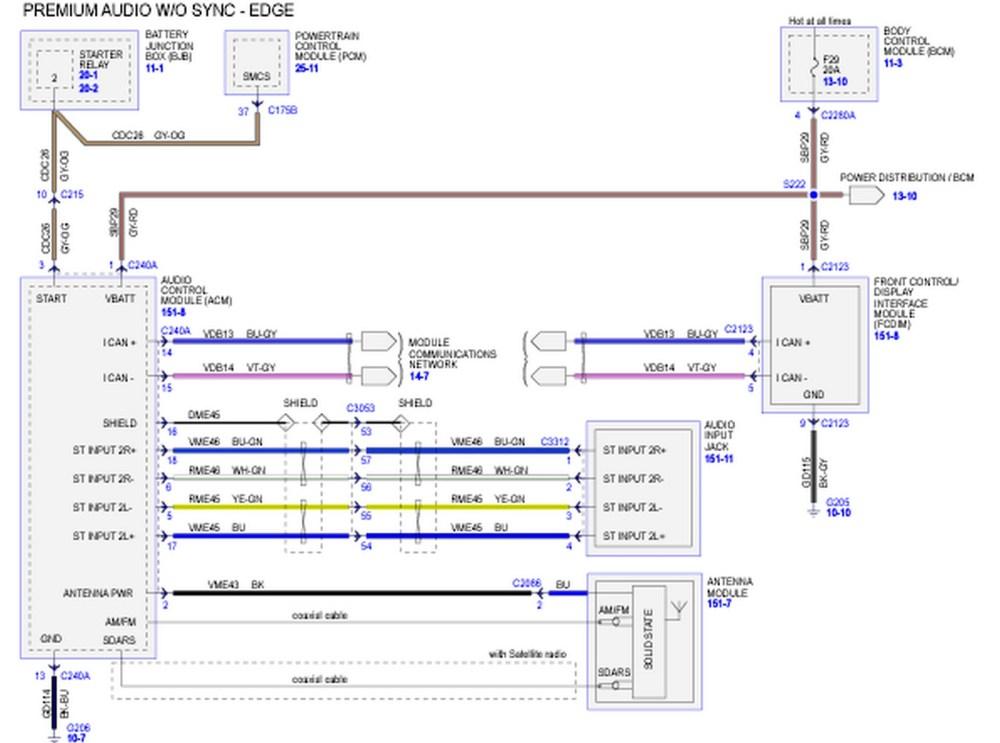 medium resolution of ford edge wiring diagram