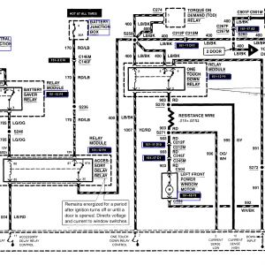 2005 Ford Escape Wiring Diagram