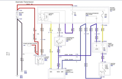 small resolution of ford escape wiring diagram