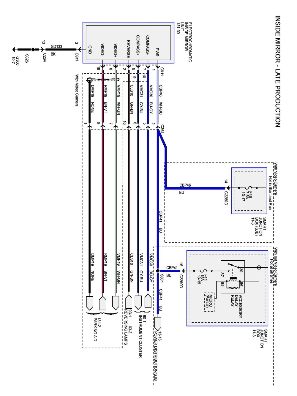 medium resolution of ford f150 backup camera wiring diagram