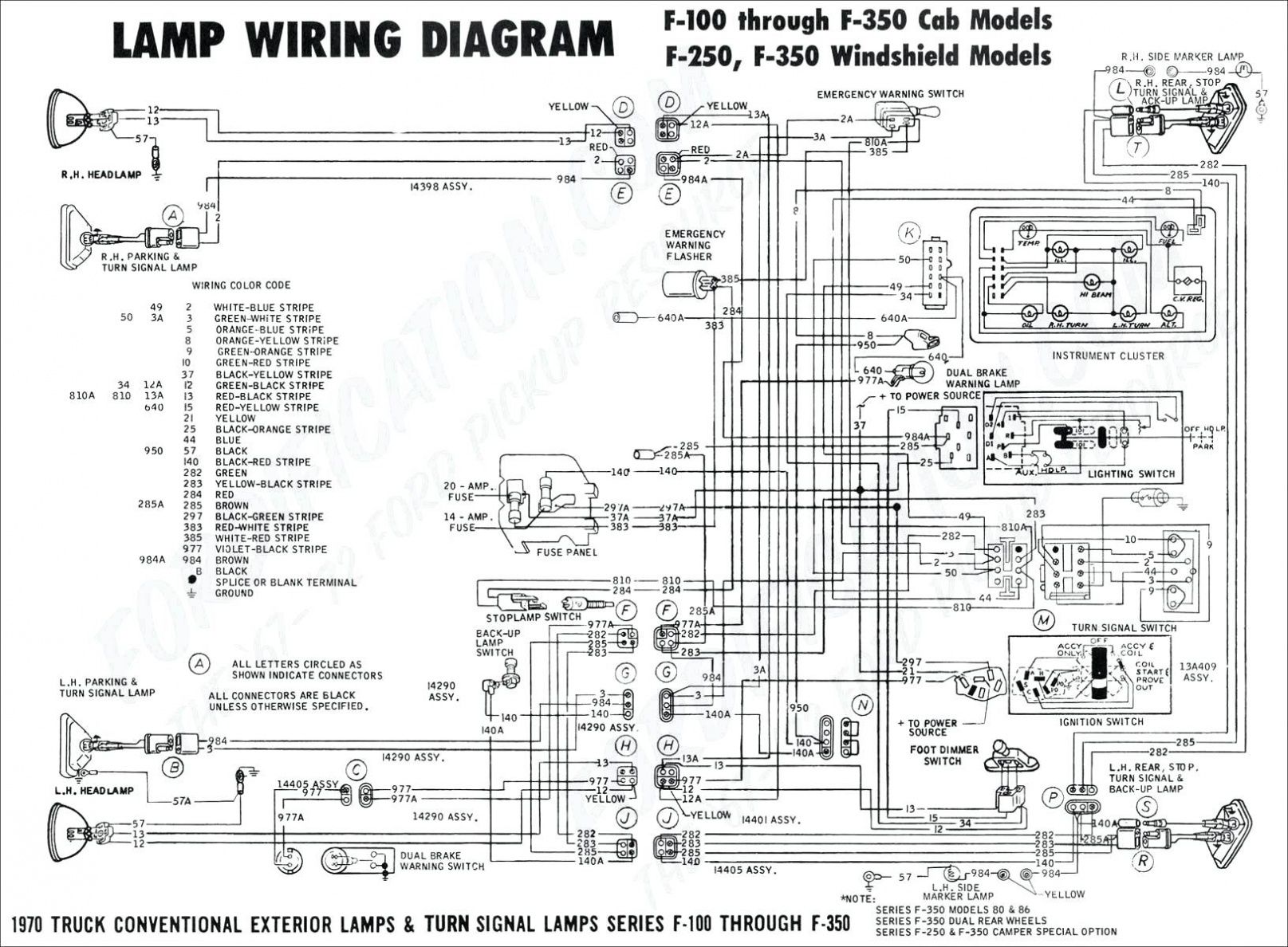 Ford One Wire Alternator Wiring Diagram