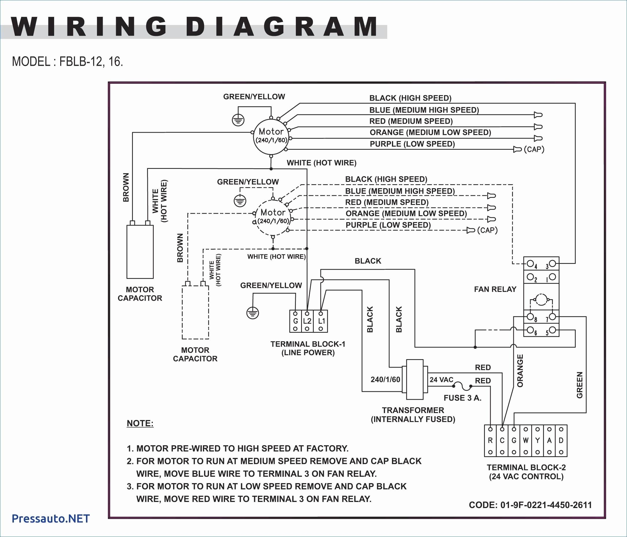 wiring diagram for baseboard heater