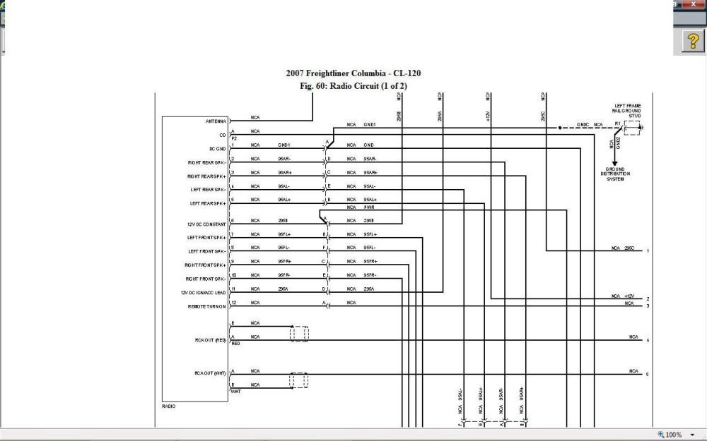 medium resolution of 2006 freightliner columbia wiring diagram wiring diagram newfreightliner a c wiring diagram manual e book 2006 freightliner