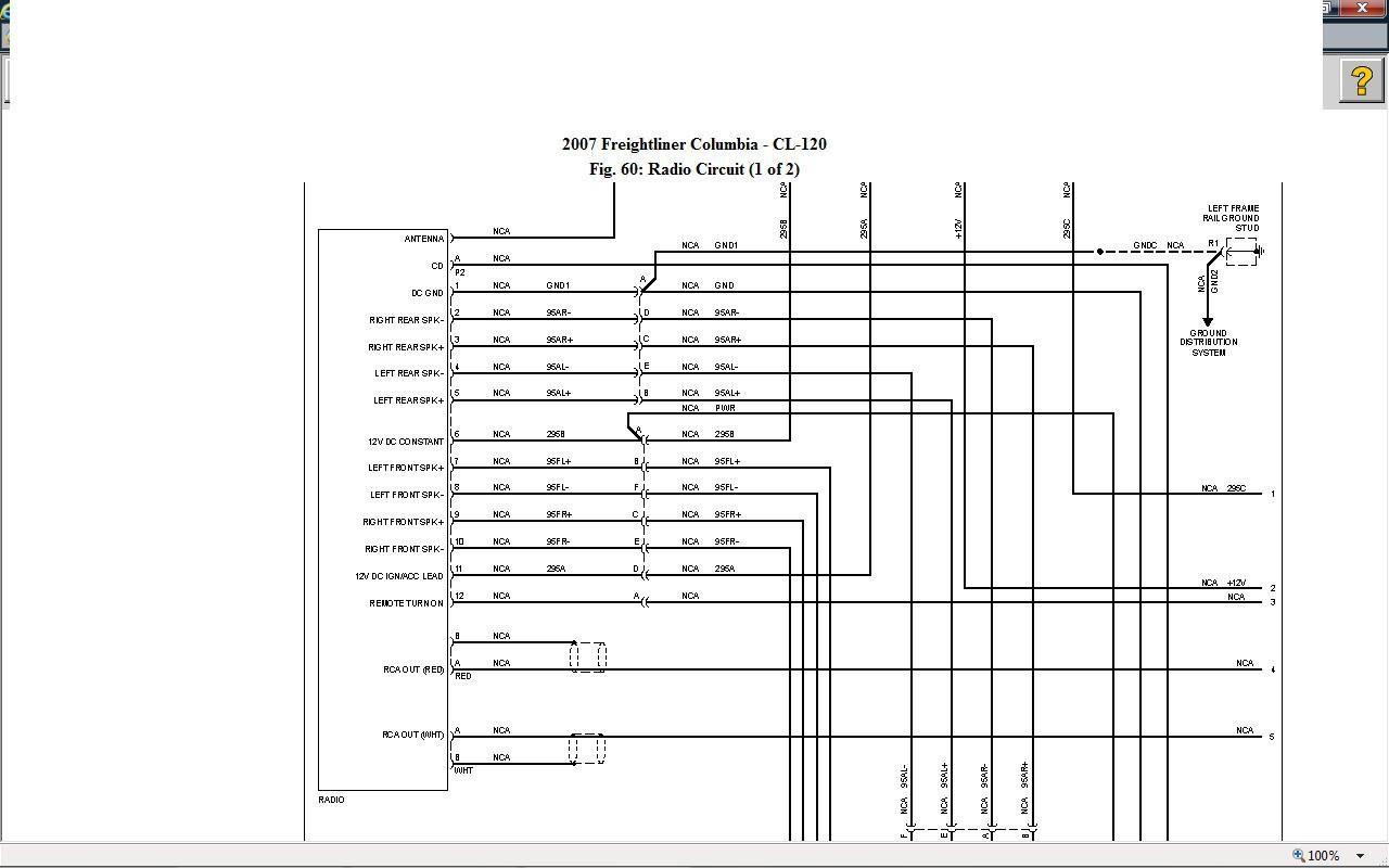 hight resolution of 2006 freightliner columbia wiring diagram wiring diagram newfreightliner a c wiring diagram manual e book 2006 freightliner