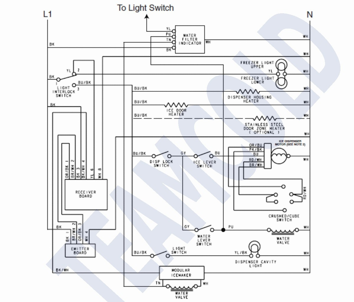 hight resolution of frigidaire ice maker wiring diagram