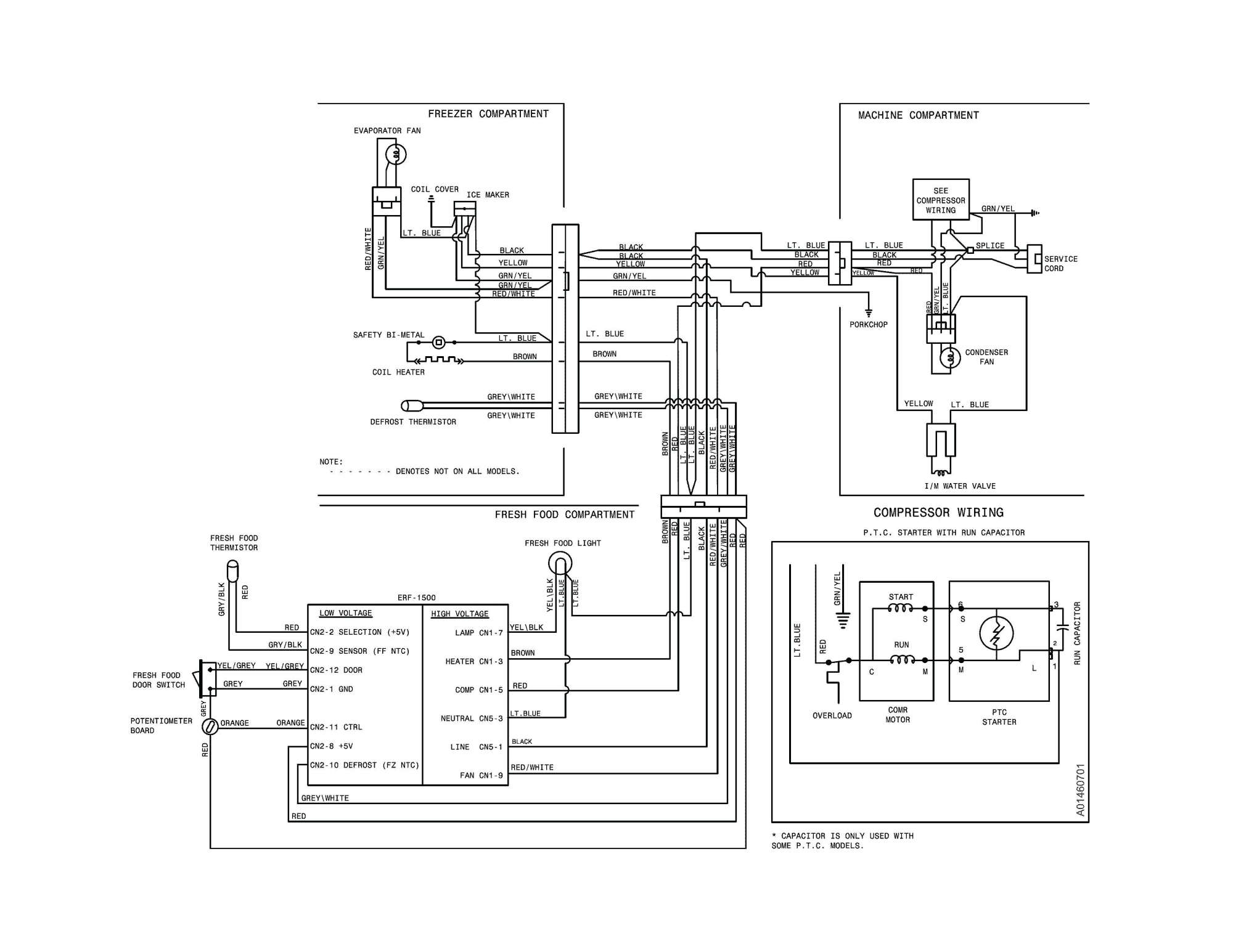 hight resolution of frigidaire refrigerator wiring diagram frigidaire refrigerator wiring diagram download wiring diagram for trailer lights and