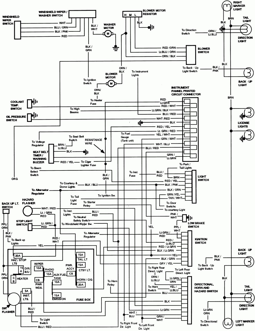 73 ford f 250 wiring diagram