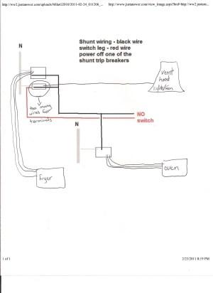 Ge Shunt Trip Breaker Wiring Diagram | Free Wiring Diagram