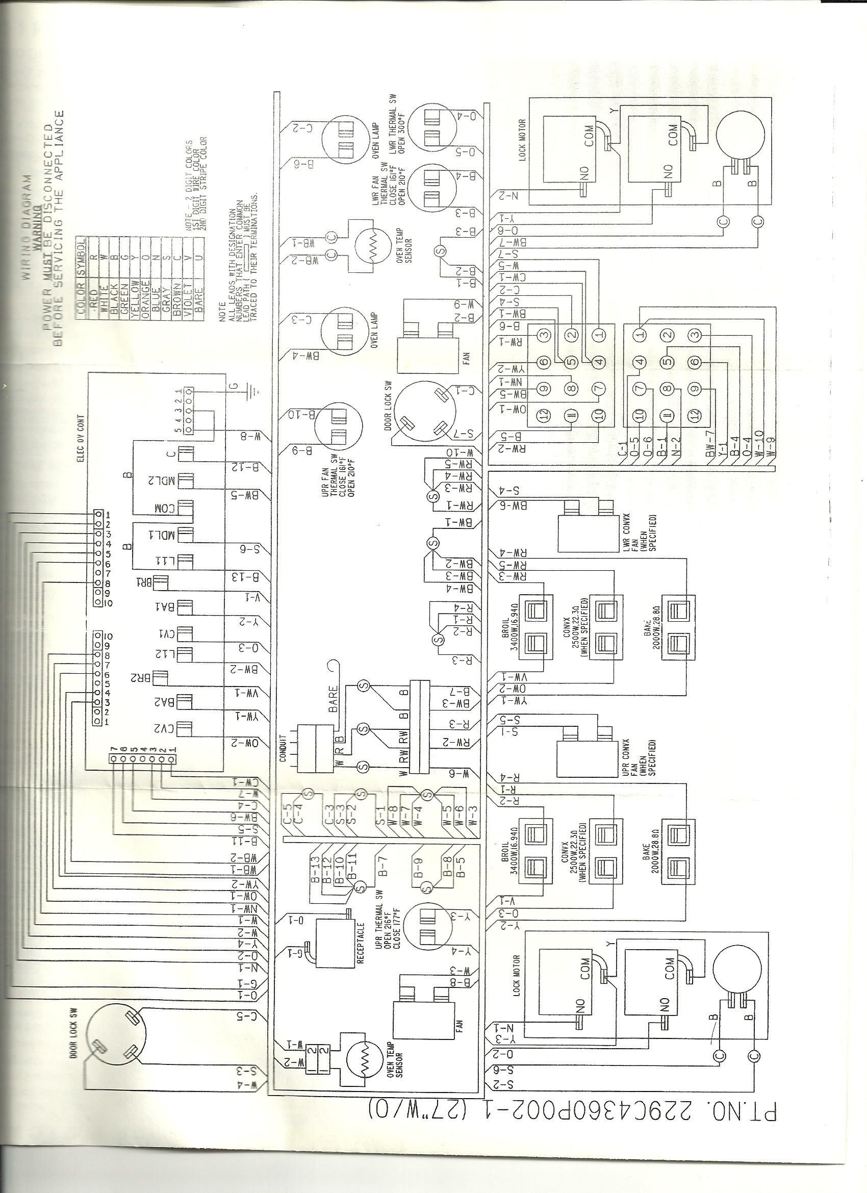 Ge Stove Wiring Diagram