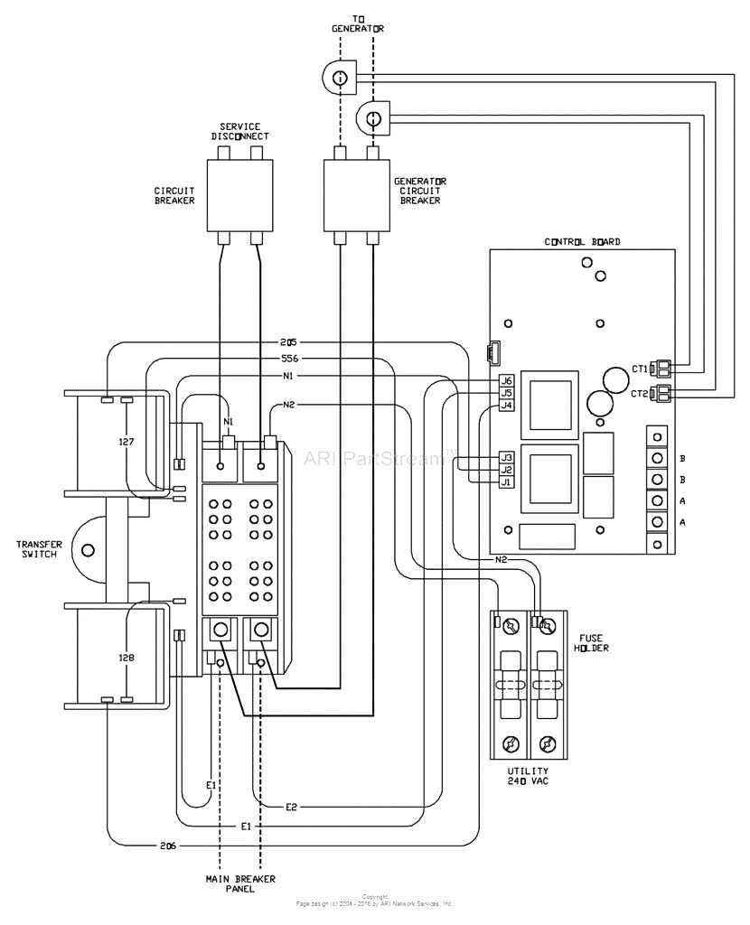 hight resolution of generac 200 amp automatic transfer switch wiring diagram free