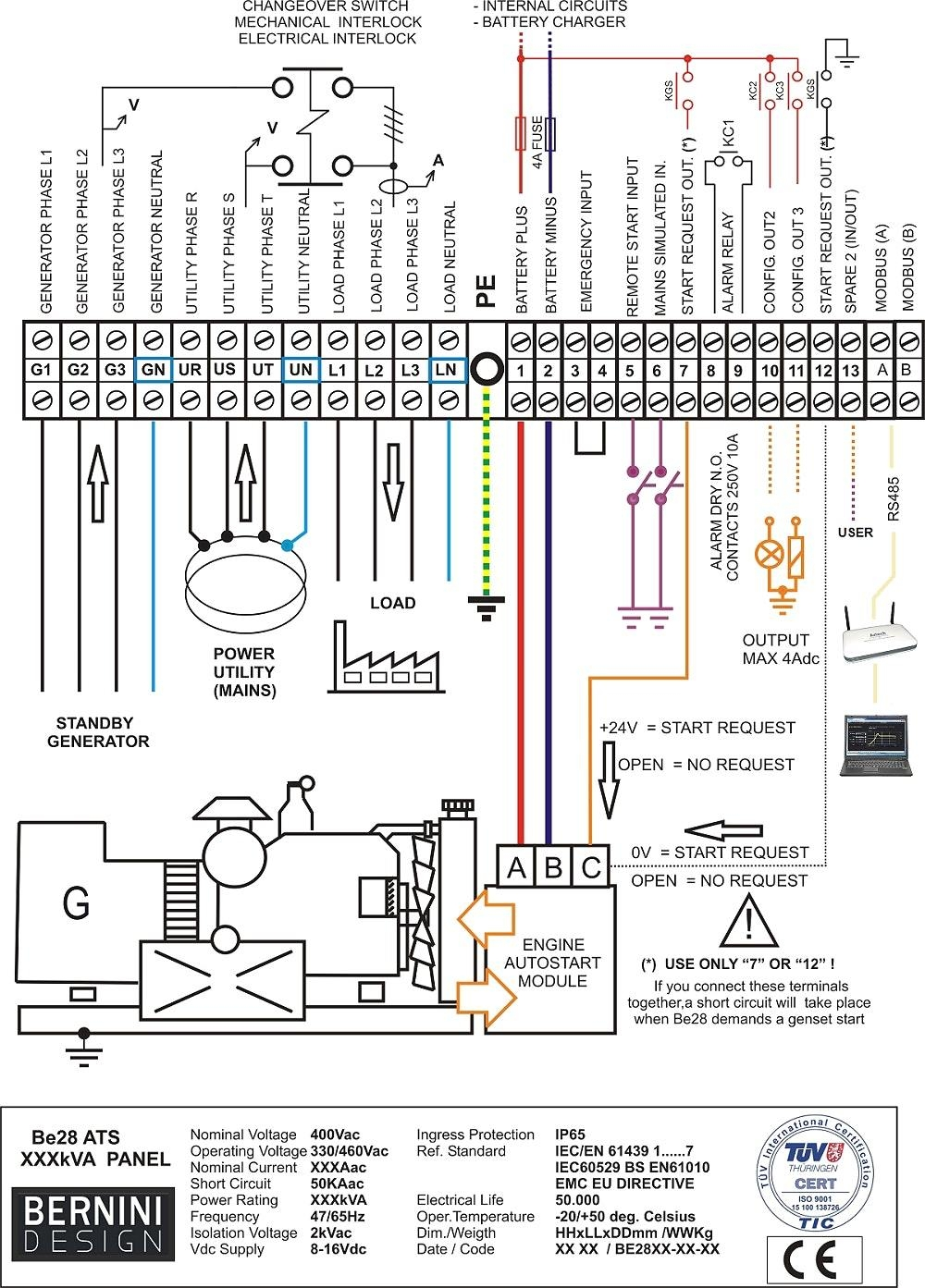 generac ats wiring wiring diagram Wiring Diagram for CTS