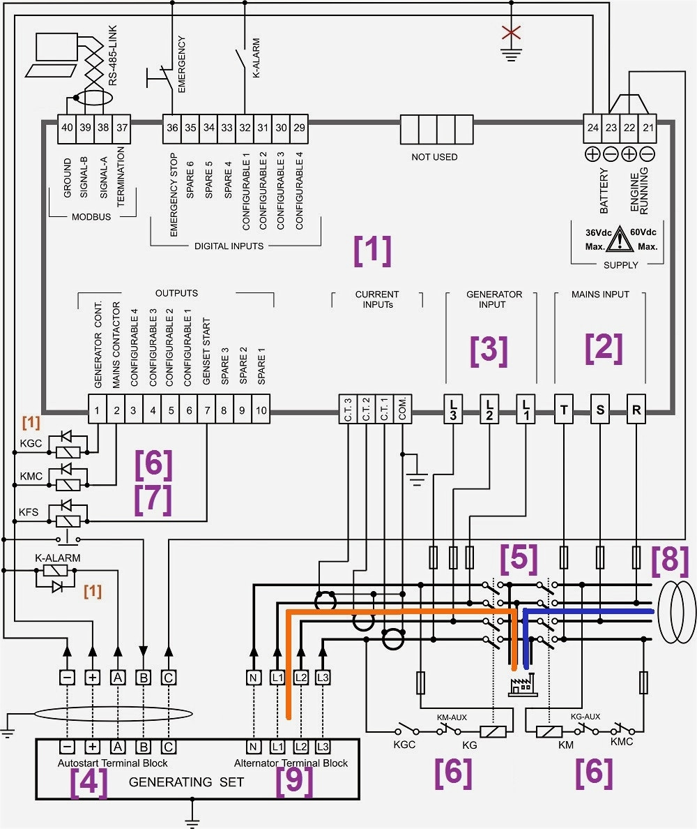 related with control panel wiring diagram